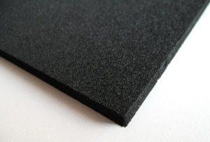 Высокопрочная микропористая резиновая пластина EPDM